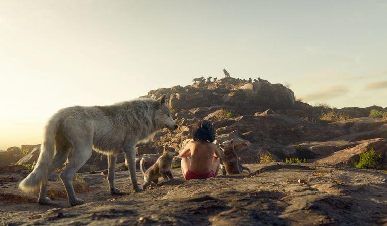 Een scène uit 'Jungle Book'. Beeld AP
