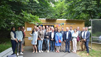 Rotary sponsort inloophuisje voor bewoners Cirkant
