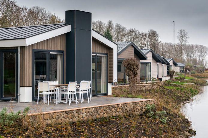Resort aan de Maas in Kerkdriel krijgt steeds meer vorm.