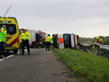 Bestuurder uit Sommelsdijk (39) overleden bij ongeval op N57 ter hoogte van Hellevoetsluis