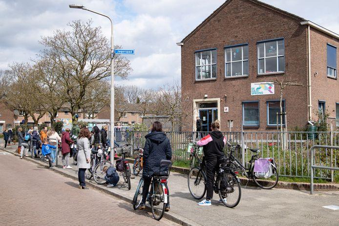 Basisschool De Hazesprong in de Nijmeegse wijk Hazenkamp.