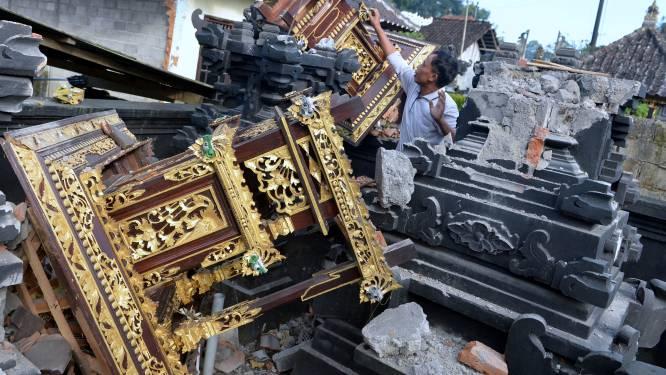 Zeker drie doden bij aardbeving op vakantie-eiland Bali