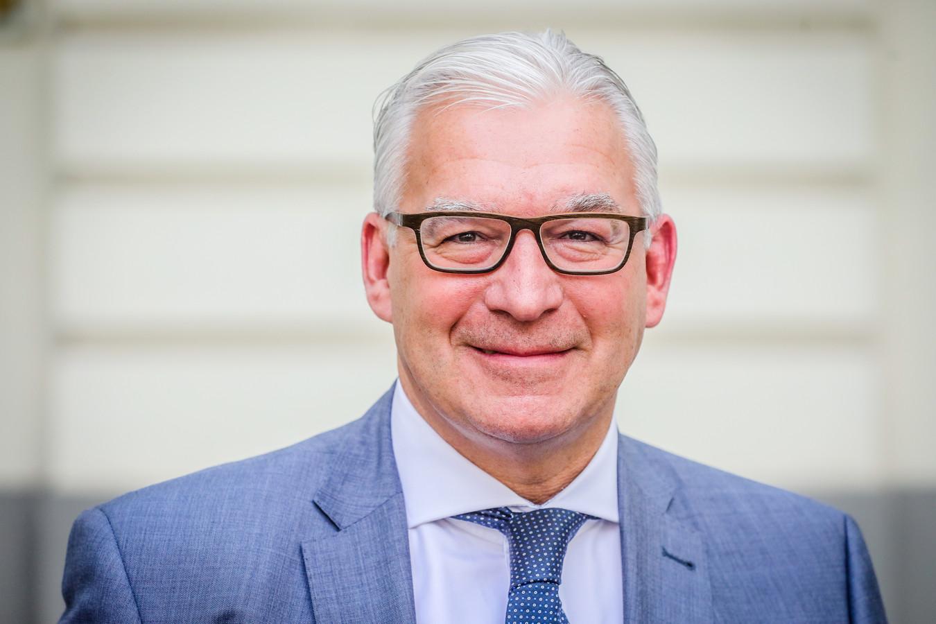 Piet De Groote, burgemeester van Knokke-Heist.