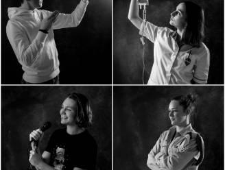 """Oostkampse jongeren doen mee aan bijzondere fotoshoot en vertellen over hun coronajaar: """"We proberen positief te blijven, hoe verdomd moeilijk ook"""""""