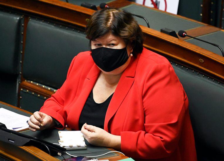 Maggie De Block, voormalig minister van Volksgezondheid (Open Vld). Beeld Photo News