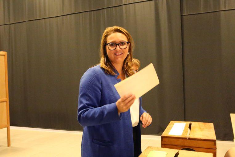 Rutten blijft in haar kanton een stemmenkanon en voorkwam dat Open Vld erop achteruit ging.