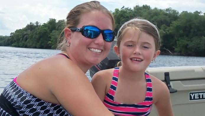 Jaylon Rippy en haar moeder Tanya.