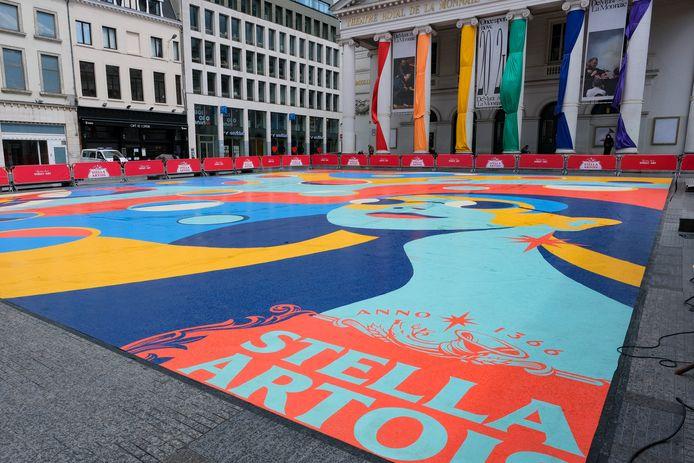 Het Muntplein heet gedurende een week het Stella Artoisplein.