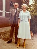 Corrie en haar man Piet.