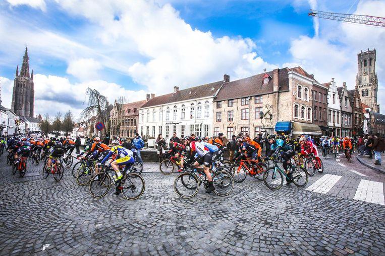 Brugge was vorig jaar voor het eerst de startplaats. Dit jaar is dat weer het geval.
