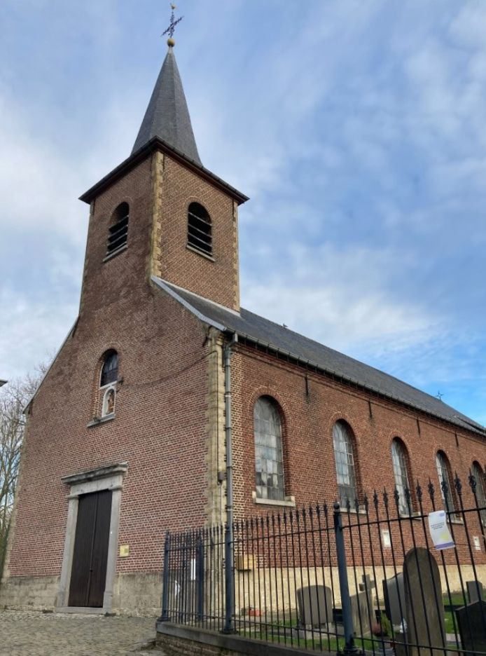 Onbekenden hebben geprobeerd om in te breken in de kerk van Dikkele.
