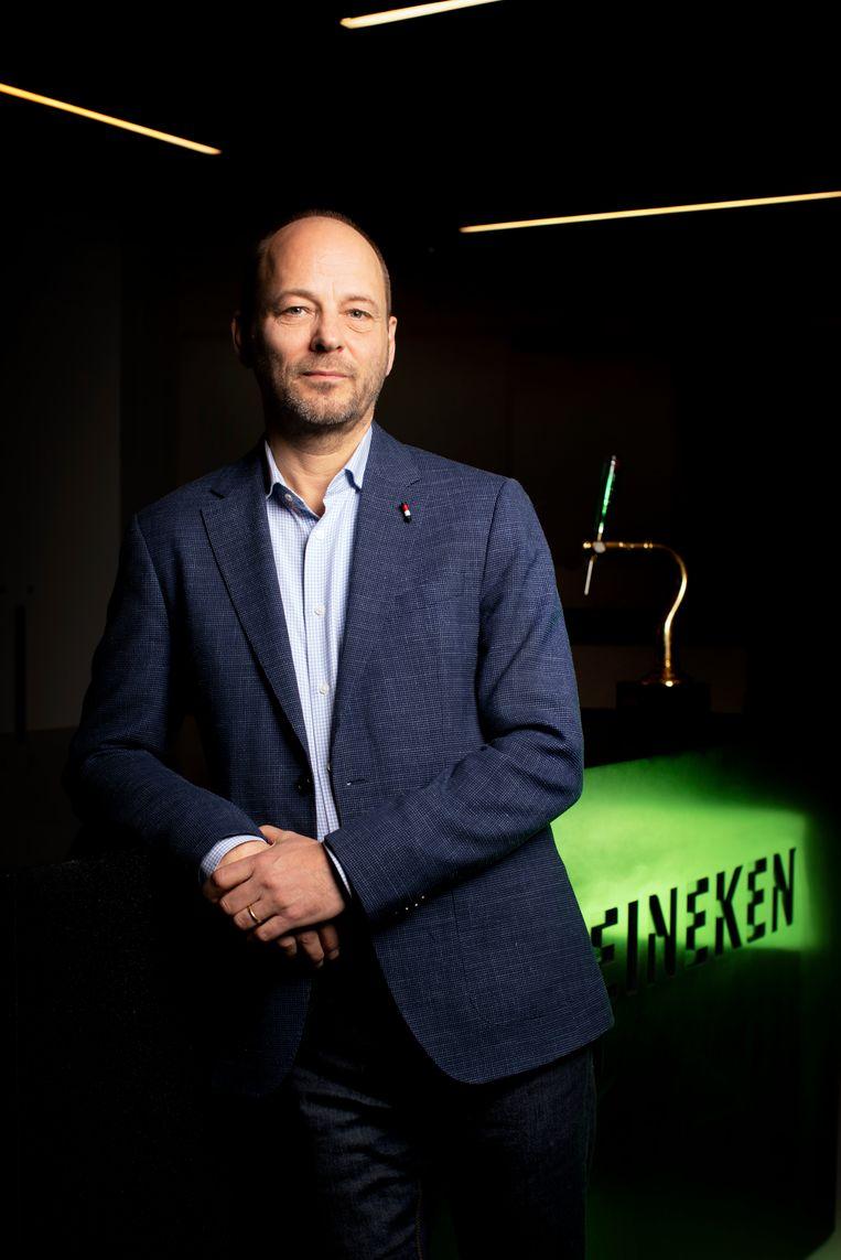 Directeur Hans Böhm van Heineken Nederland.     Beeld Harmen De Jong