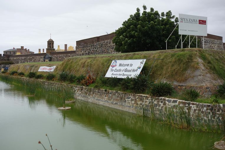 The Castle of Good Hope (Freedom from Oppression) wordt gerenoveerd. Beeld wb