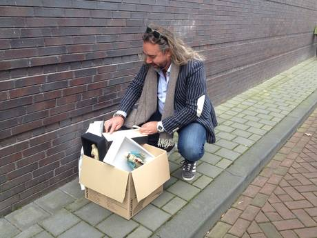 Kunstenaar laat eigen bloed vloeien voor actie bij Noordbrabants Museum in Den Bosch