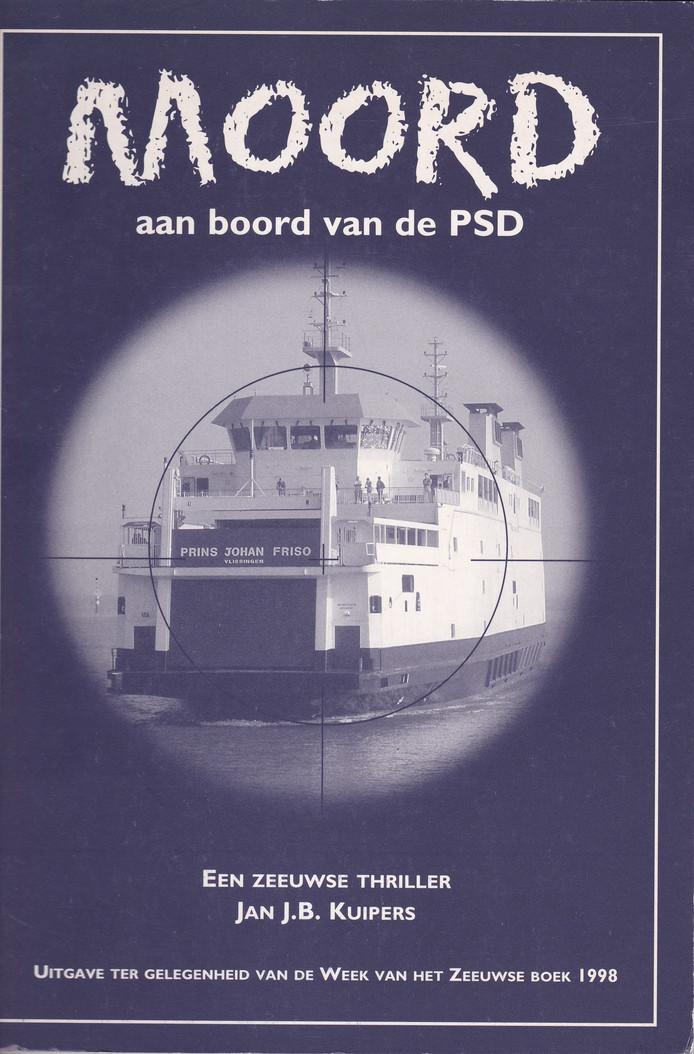 cover Moord aan boord van de PSD Jan Kuipers 1998