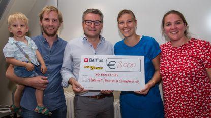 Puurswingt schenkt 8.000 euro aan Berrefonds