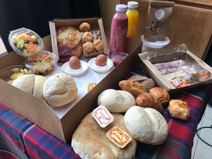 BRUS in Gistel pakt uit met een wel heel luxueuze ontbijtbox.