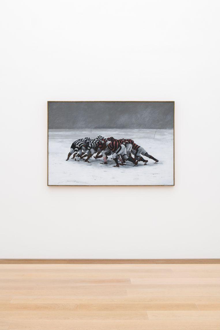 Pyke Koch, Scrum III (1969). Beeld Museum Voorlinden