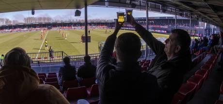 Emmen-fans moeten er heel wat voor over hebben om hun club aan het werk te zien