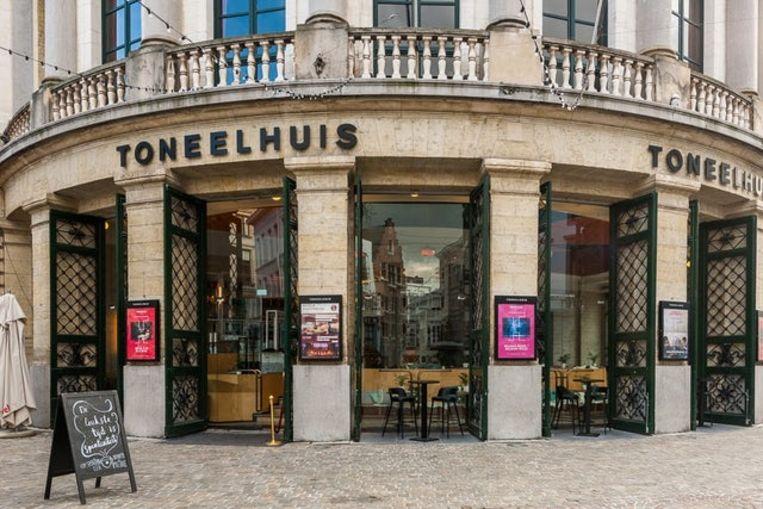 De Bourla-schouwburg in Antwerpen. Beeld STAN