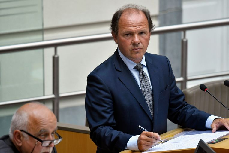 Vlaams minister van Sport Philippe Muyters (N-VA). Beeld Photo News