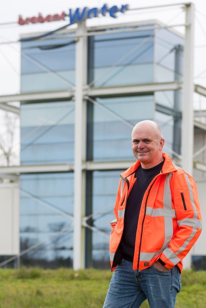Procestechnicus Ed de Koning van Brabant Water bij Waterproductiebedrijf Welschap.