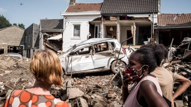 Ook Pelt staat stil bij slachtoffers watersnood: Ravage heeft grote indruk achtergelaten