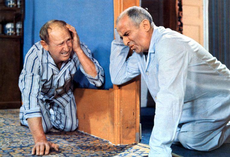 Film: La Grande Vadrouille 'De eerste film waar ik hard om kon lachen, met Bourvil en Louis de Funès.' Beeld HH