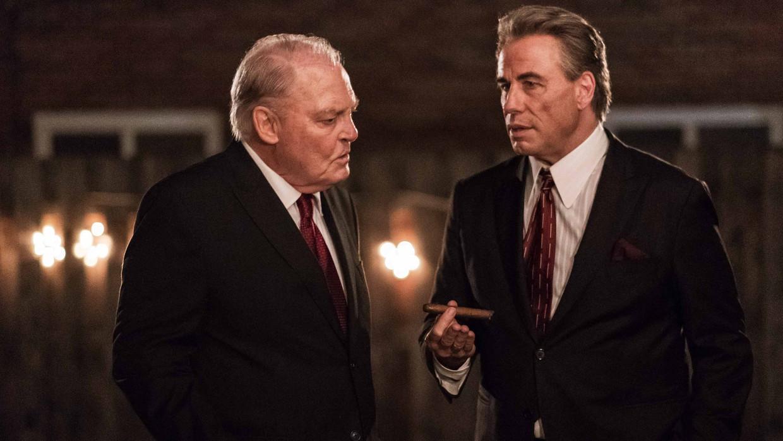 Stacy Keach en John Travolta in 'Gotti' Beeld TMDB