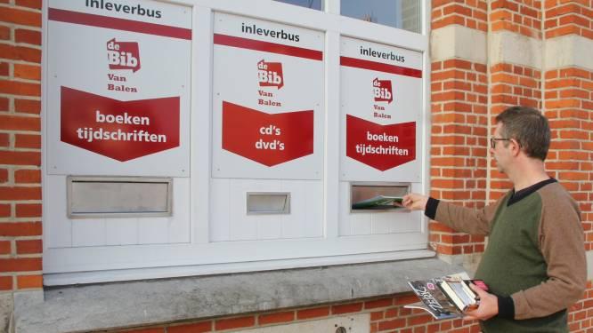 Inleverbussen van bib opnieuw geopend
