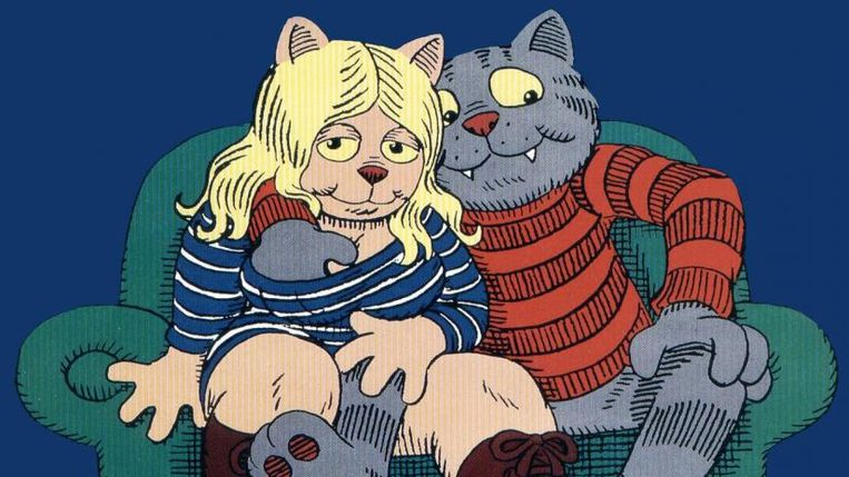 'Fritz the Cat'. Beeld rv