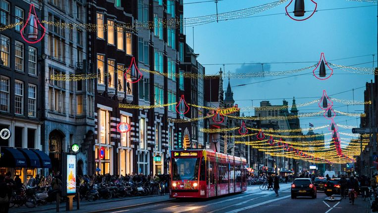 De winkelhuurprijs in Nederland lag gemiddeld op 655 euro per vierkante meter per jaar Beeld anp