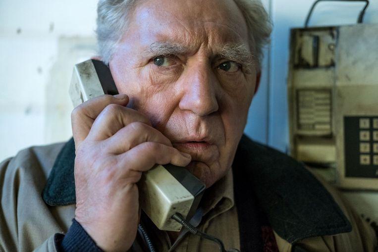 Jan Decleir speelt de hoofdrol in 'Niet Schieten'. Beeld RV