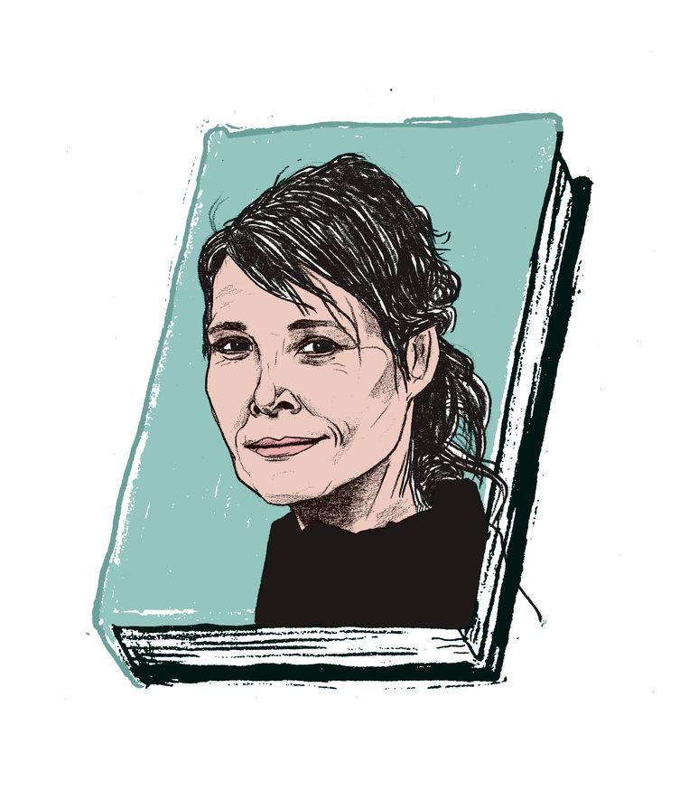 """'Een tikje tragisch hoe Griet Op de Beeck haar kritische zin heeft laten varen"""", zegt literair recensent Jeroen Vullings. Beeld Gijs Kast"""