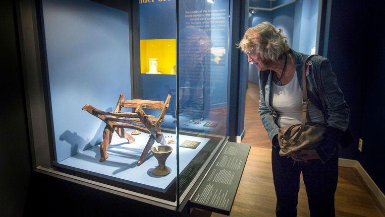 Musea op de Krim hadden honderden kunstobjecten aan het Allard Pierson Museum uitgeleend Beeld anp