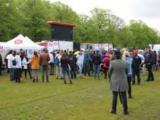 Forum voor Democratie houdt manifestatie op het Malieveld: 'Voor de vrijheid, tegen de coronamaatregelen'