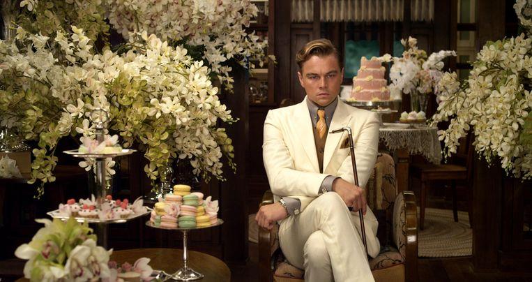 Leonardo DiCaprio in 'The Great Gatsby'. Beeld rv
