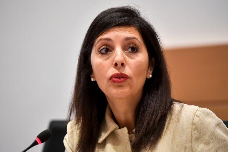 Ecolo-voorzitter Zakia Khattabi. Beeld BELGA