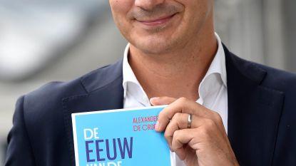 Alexander De Croo stelt boek 'De Eeuw van de Vrouw' voor in Wortegem-Petegem