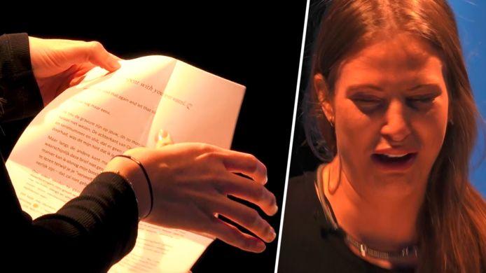 Liese krijgt een brief