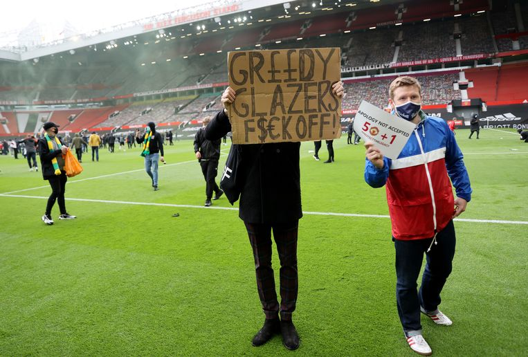 Old Trafford. Beeld Action Images via REUTERS