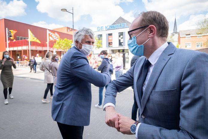 De officiële inhuldiging van de nieuwe schoolgebouwen van de Krinkel door minister Ben Weyts