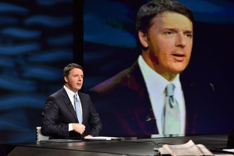 De Italiaanse premier Matteo Renzi. Beeld Photo News