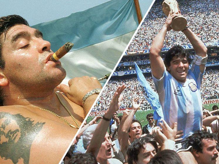 Diego Maradona is 60 geworden: een ode van Sjoerd Mossou