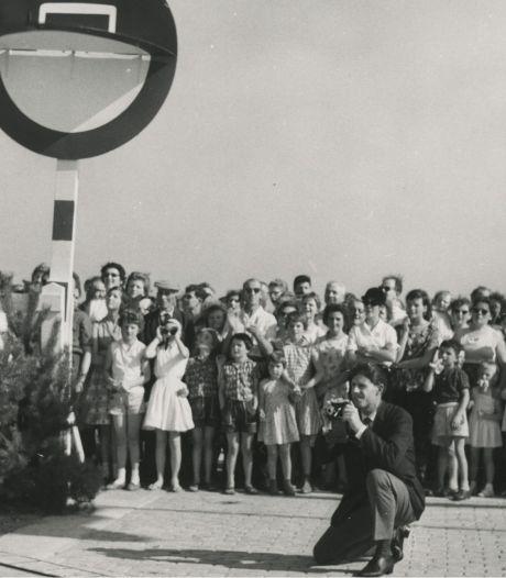 Wie reed er in 1961 als eerste over de nieuwe weg tussen Eindhoven en Tilburg?