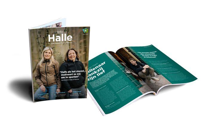 Zo ziet de nieuwe Info Halle er uit.