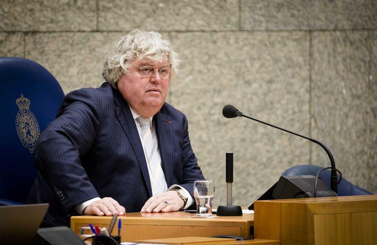 Oud-Kamerlid Ton Elias: 'De duivenfokverenging in Muiden heeft de administratie beter op orde, wat een bende.' Beeld ANP