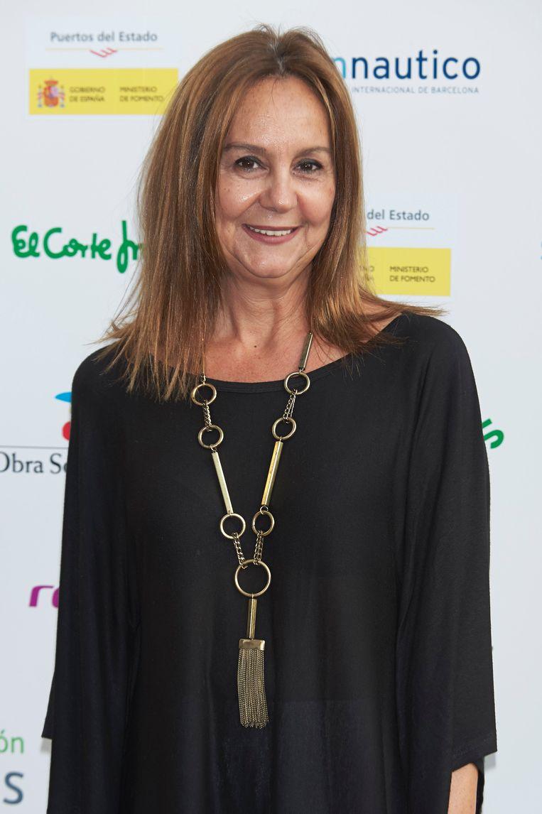 Het debuut van María Dueñas uit 2009 werd meteen een miljoenensucces. In Spanje is ze uitgegroeid tot een fenomeen. Beeld WireImage