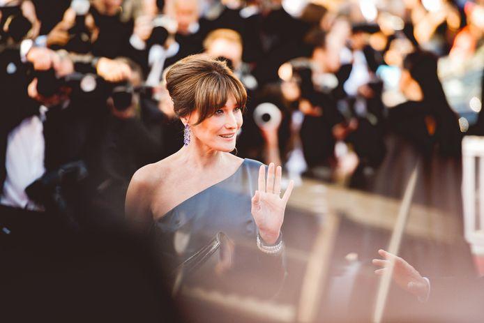 Carla Bruni au Festival de Cannes
