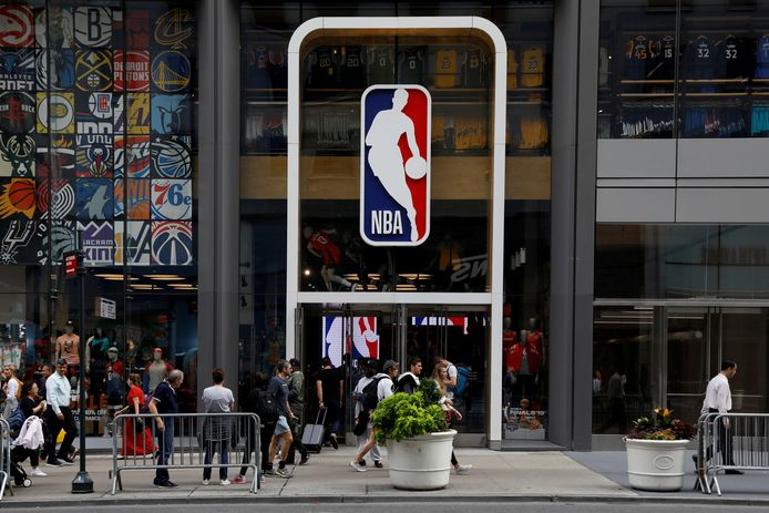 De NBA Store in New York.